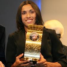 Brazilian soccer start Marta
