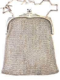 mesh purse