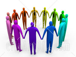 hand in hand clipart