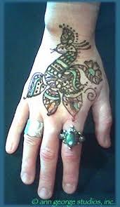 Hand Tattoo Henna Desaign