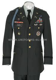 class a military uniform