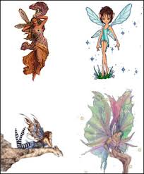 clip art of fairies