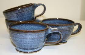 pottery tea cups