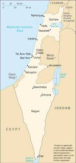 atlas of israel