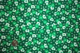 green m and ms