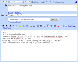 example of a email