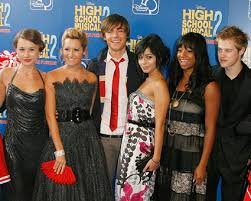 characters high school musical