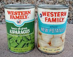 canned food labels