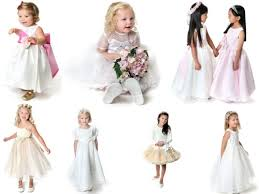 childrens bridesmaids dress