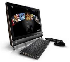 hp computers touch screen