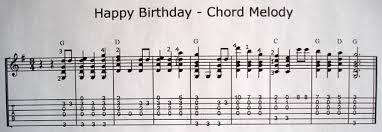 melody chord