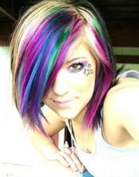 punk hair dye