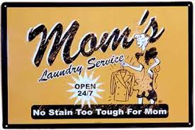 antique laundry signs