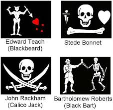 pirates of the caribbean flags
