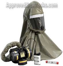 gas mask hoods