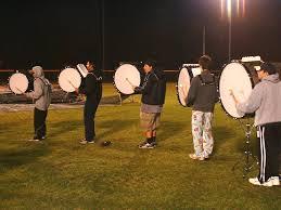 bass drum line