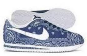 blue rag shoes