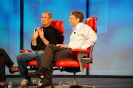 Steve Jobs and Bill Gates: