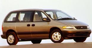 plymouth minivans