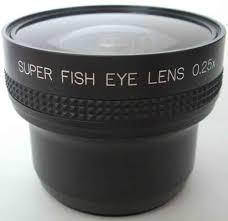 sony camcorder fisheye