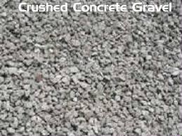 gravel concrete