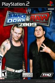 smackdown vs raw 2009 video games
