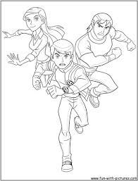 coloring pages of ben 10