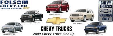2009 chevrolet trucks