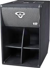 folded horn speakers