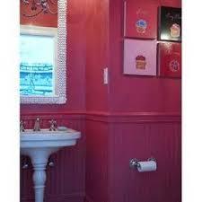 hot pink bathroom