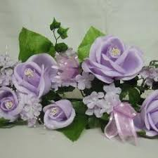 lilac wedding bouquets