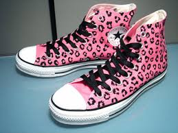 pink leopard print shoes