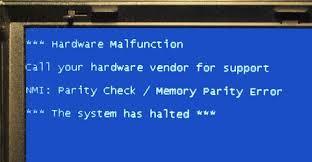 hardware malfunction