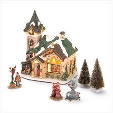 porcelain christmas villages