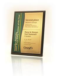 presentation plaques