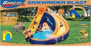 garden water slides