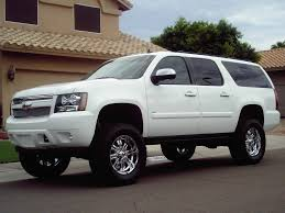 chevy suburban lifted
