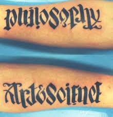 ambigrams tattoos