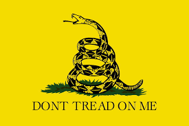 don t tread on me poster