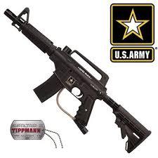 alpha black paintball gun