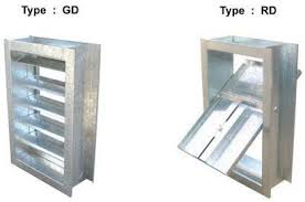 gravity dampers