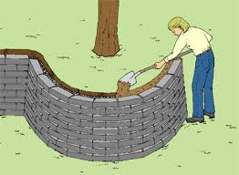 retaining wall capping