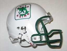 football helmet logo
