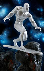 silver surfer statues