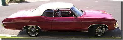 1969 chevy impala convertible