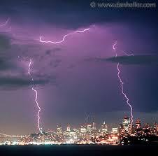 rare lightning