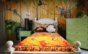 jungle theme bedroom