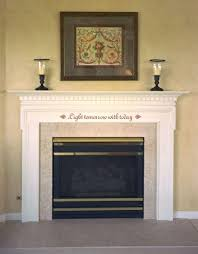 mantle decorating idea