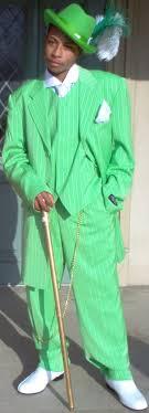 green tuxedos
