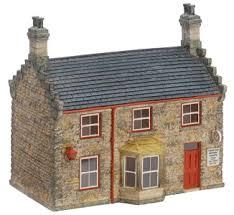 model railway buildings